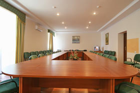 Conference Service in Ozerny Kray Resort Hotel